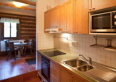 kuchyň a hala přízemí